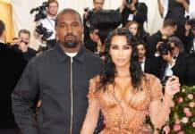 Kim Kardashian with Husband Kenya