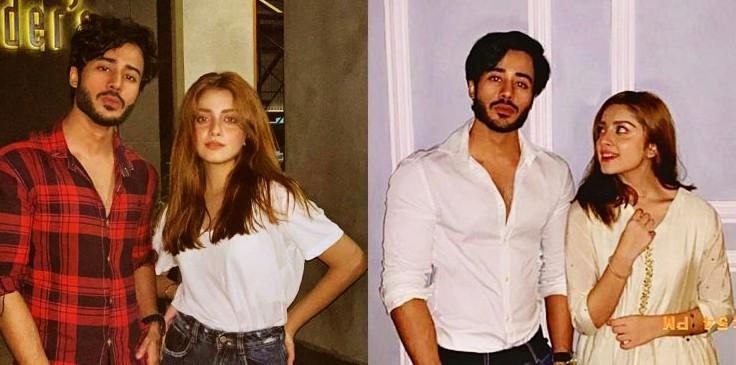 Noman Sami and Alizeh Shah