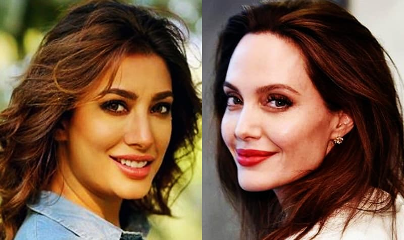 Mehwish Hayat added in the Angelina Julie's production My World.