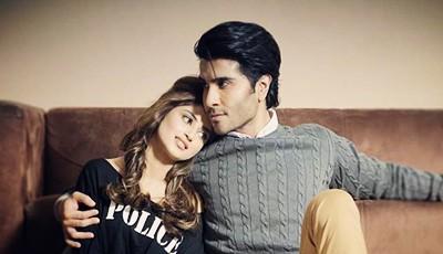 Sajal Aly and Feroze Khan